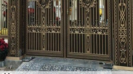 motor cổng âm sàn cho biệt thự tại Gia Lai, Kon Tum