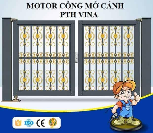 Motor cổng mở cánh tự động Baiseng - Taiwan