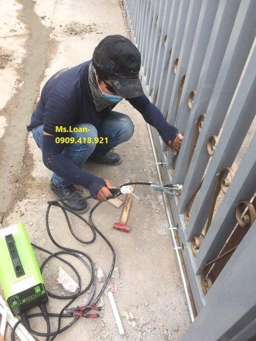 Hướng dẫn lắp đặt motor cổng