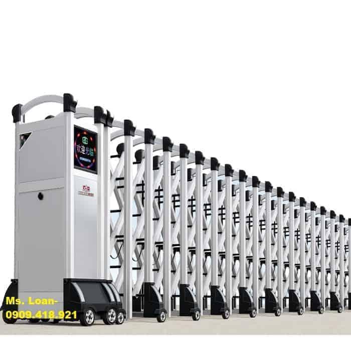 Cổng xếp điện nhập khẩu