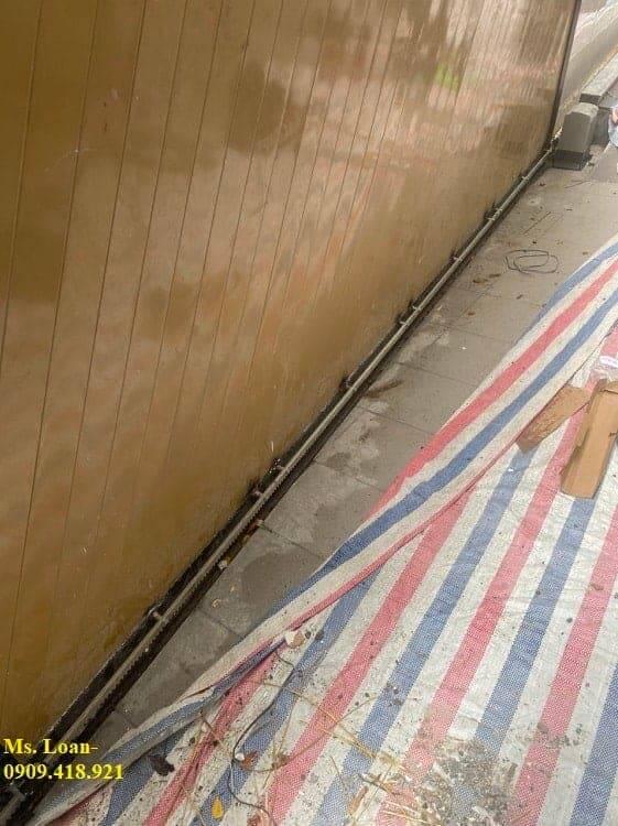 Lắp đặt cổng trượt tự động tại Phú Nhuận