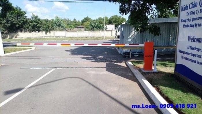 Thanh chắn barie giao thông faac